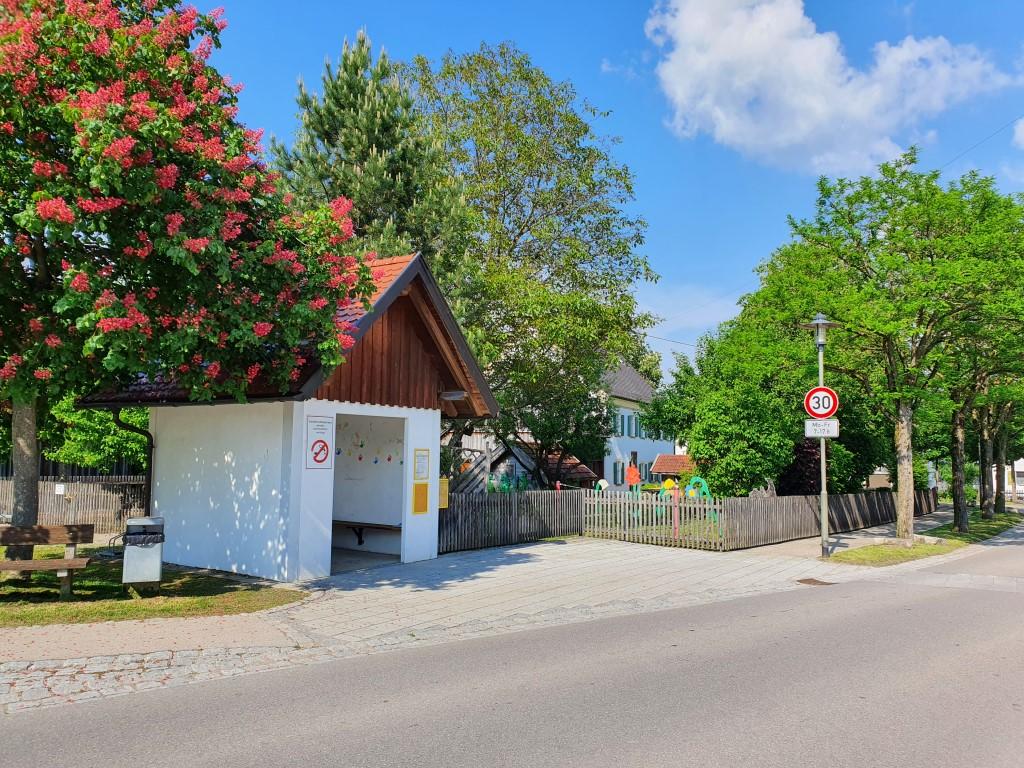 Haltestelle in Irsingen